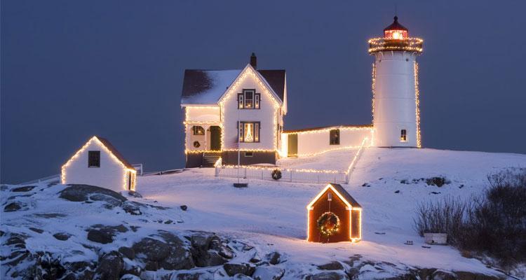 Imagen navidad nieve