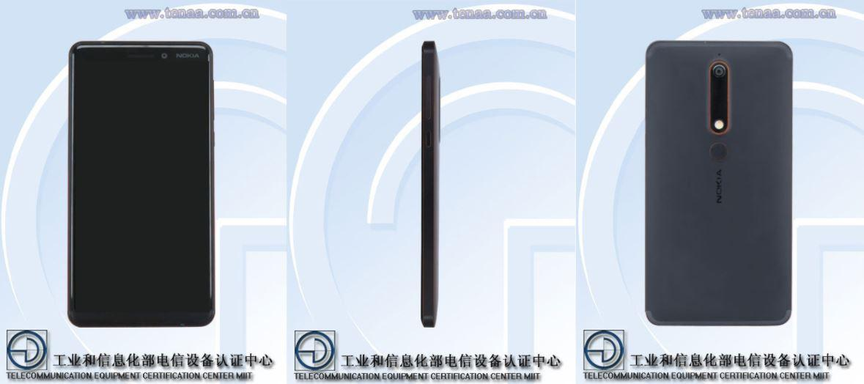 Diseño Nokia 6 2018