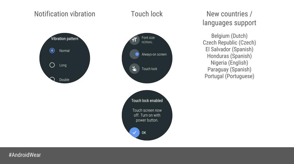 Novedades Android Wear Oreo