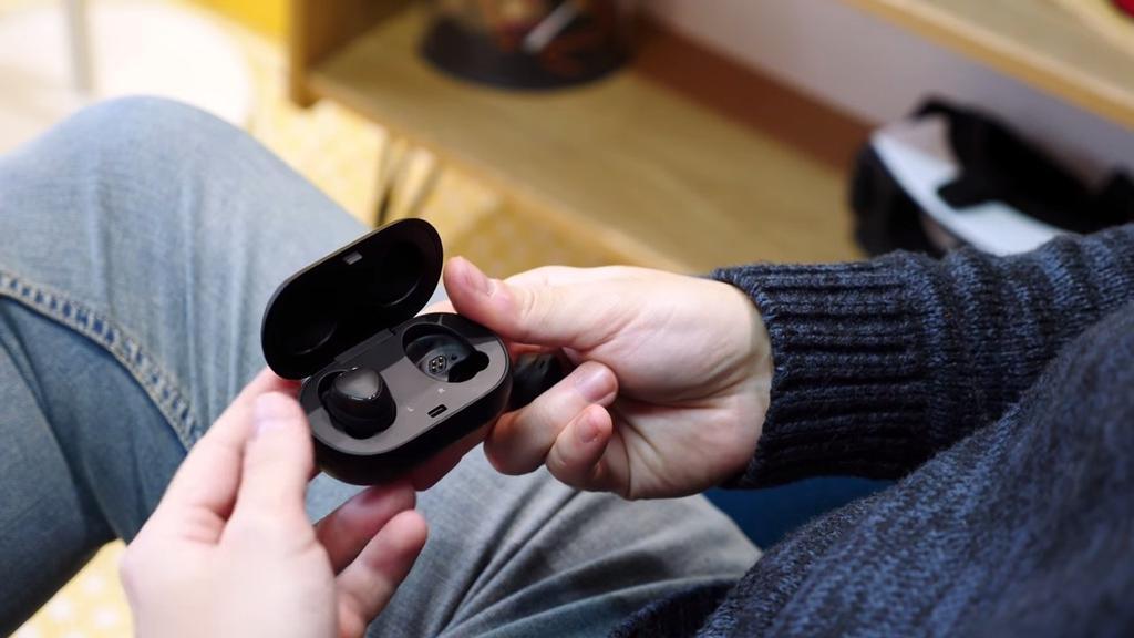 manipulación de los Samsung Gear IconX
