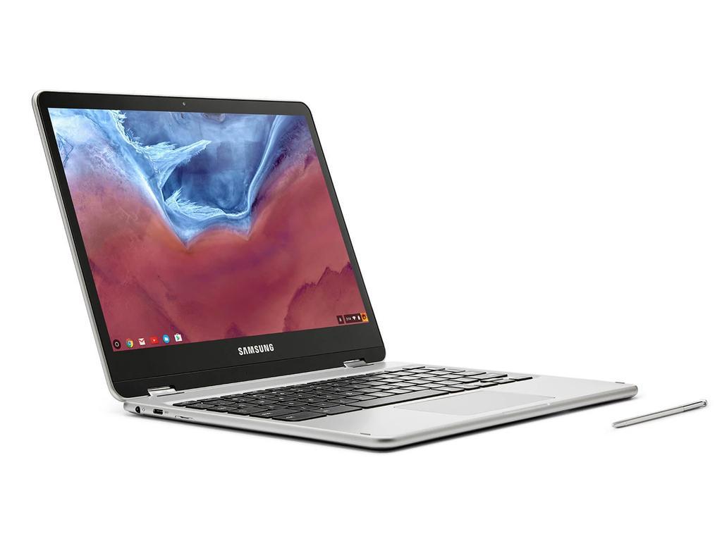 Samsung Chromebook Pro de perfil