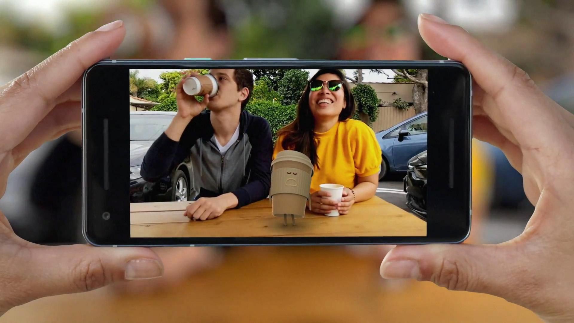 Google Pixel 2 XL en RA
