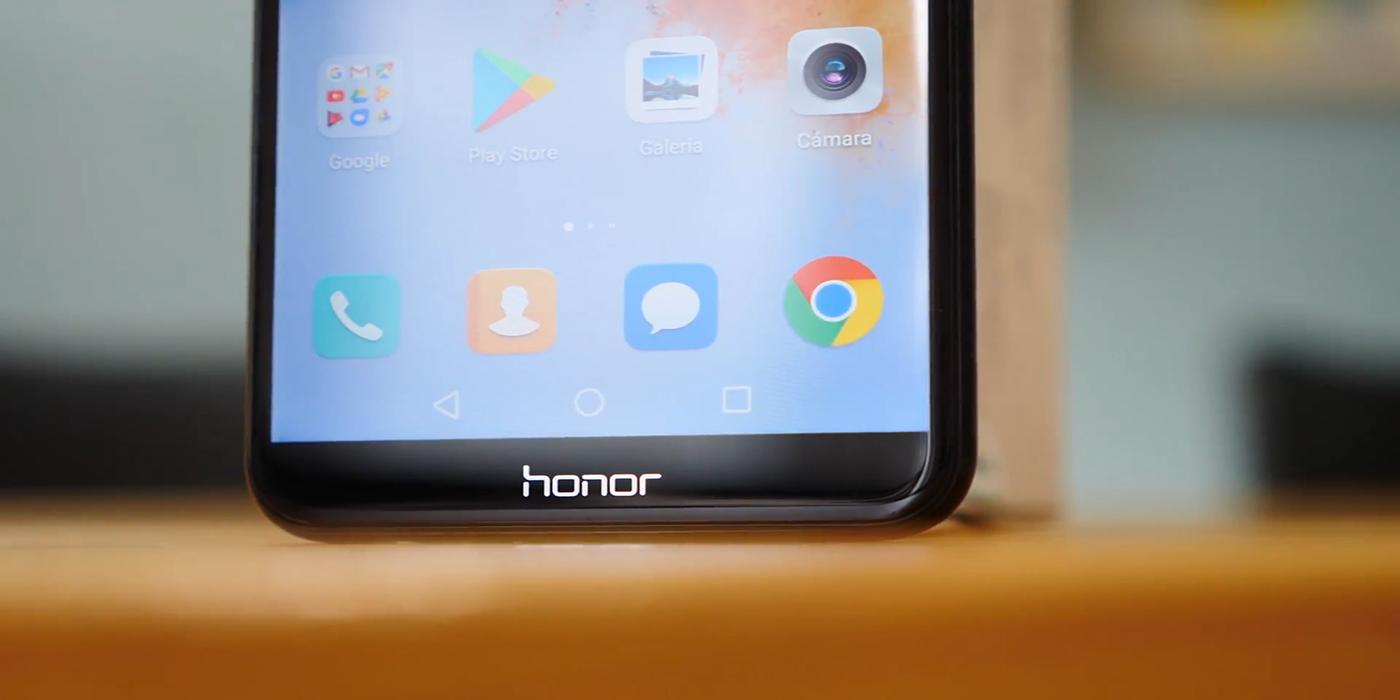 Frontal del Honor 7X