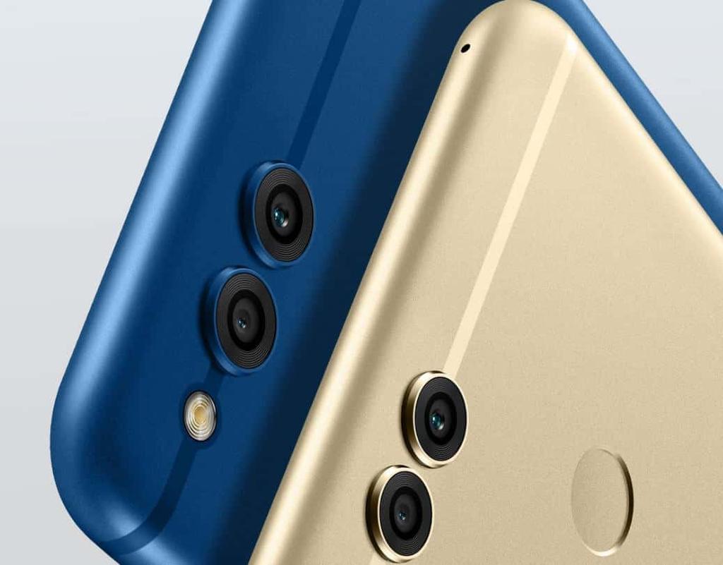 cámara del Honor 7X