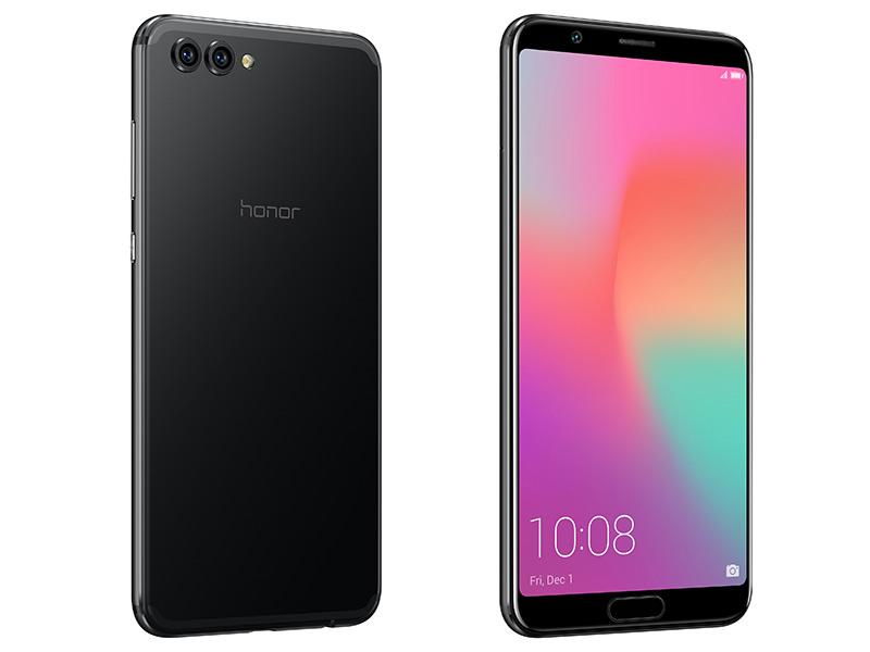Honor View 10 de color negro