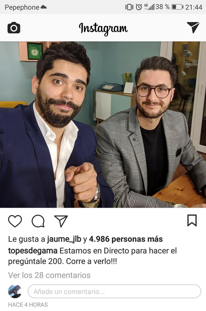 Nueva funcionalidad en Instagram