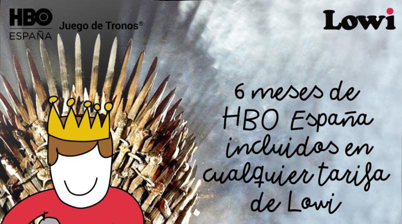 Lowi lanza una oferta junto a HBO