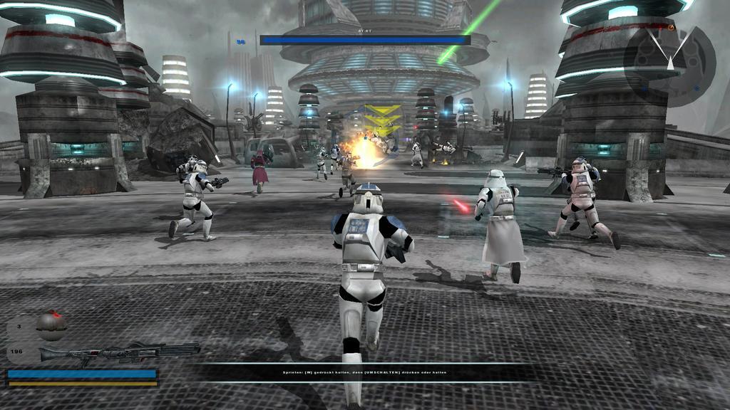 Escena de Battlefront II