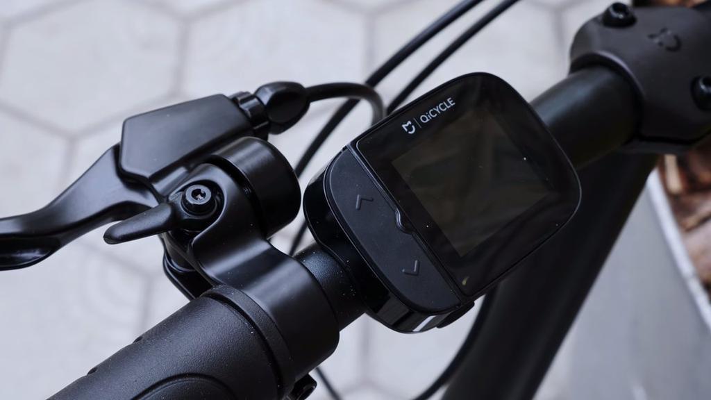 Ordenador integrado en la Xiaomi QICYCLE EF1