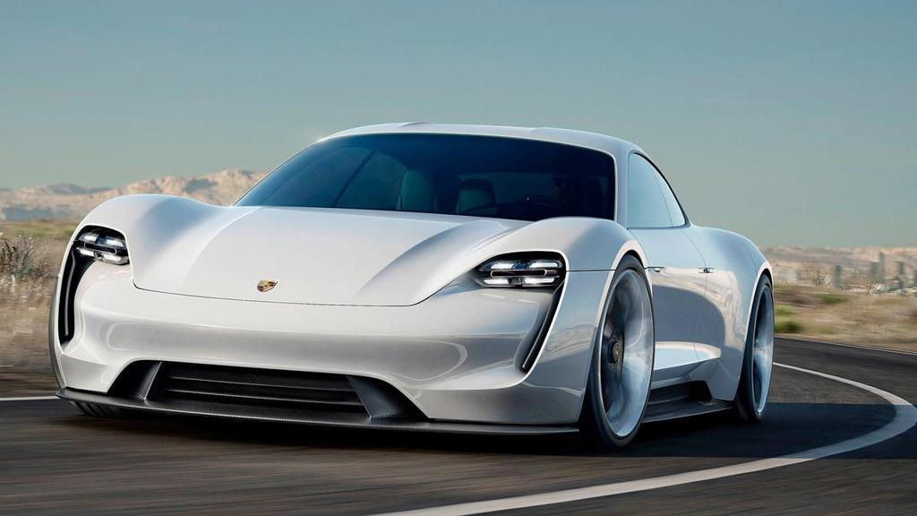 Porsche Electrico Mission E