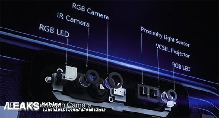 Sensores de la cámara trasera del Huawei P11