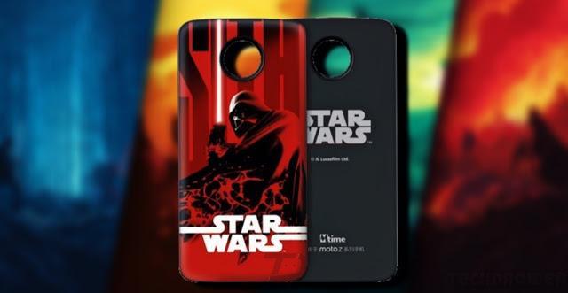 Moto Mod con Star Wars