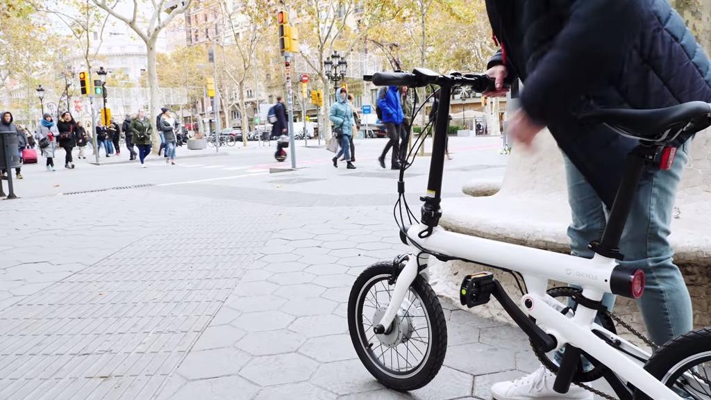 Uso de la bici Xiaomi QICYCLE EF1