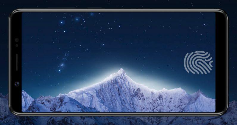 Lector de huellas en pantalla de Vivo