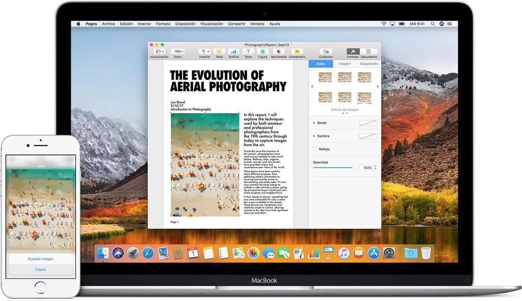 MacOs Sierra e iOS