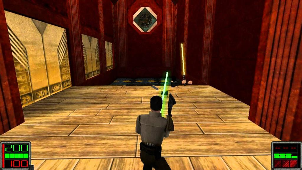 interfaz de JEDI KNIGHT: DARK FORCES I