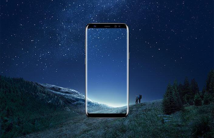samsung Galaxy s9 concepto