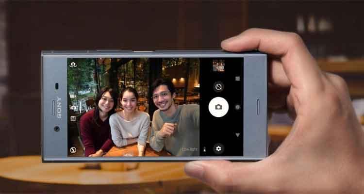 cámara del Sony Xperia XZ1