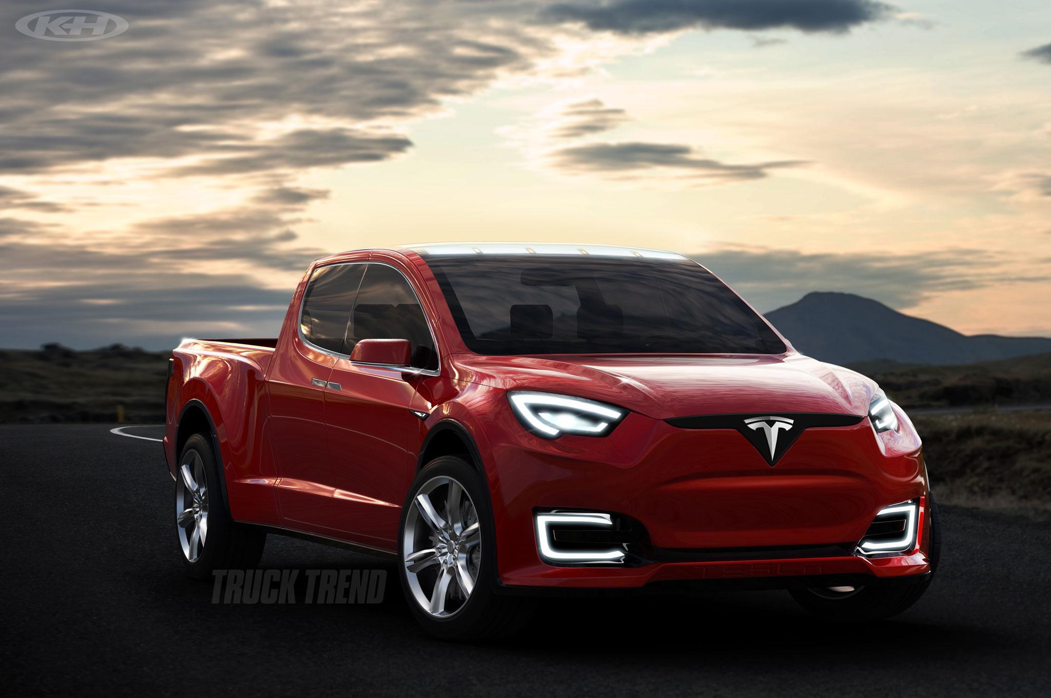 pickup Tesla