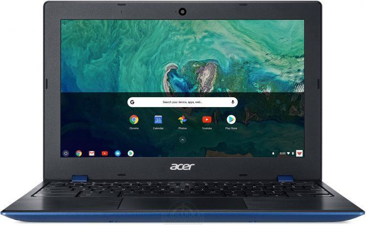 Acer Chromebook 11 encendido