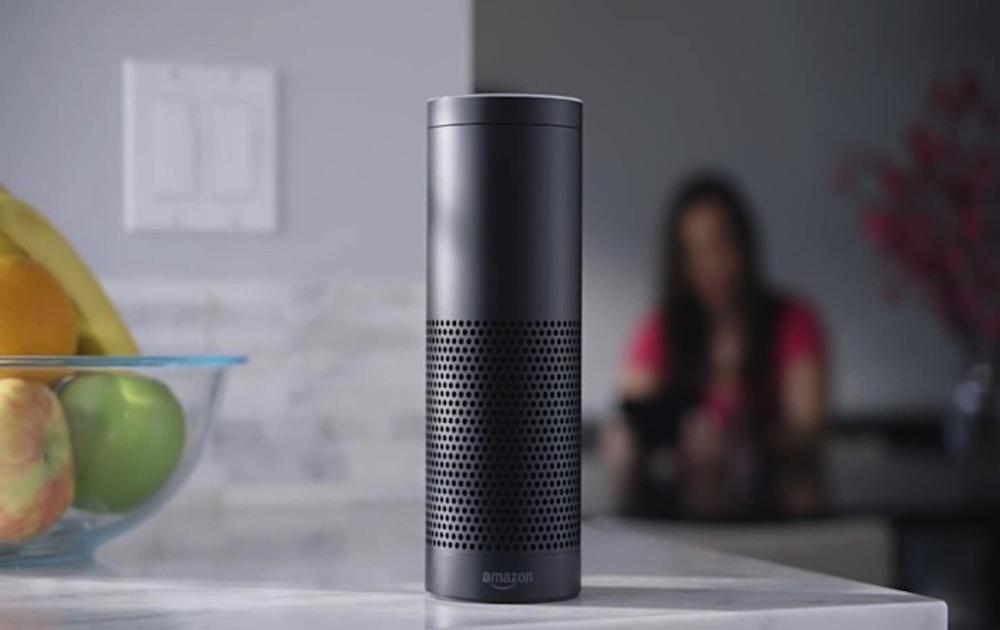 Altavoz Echo con Amazon Alexa