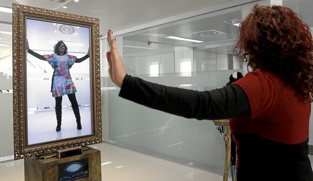 Espejo virtual para vestirse