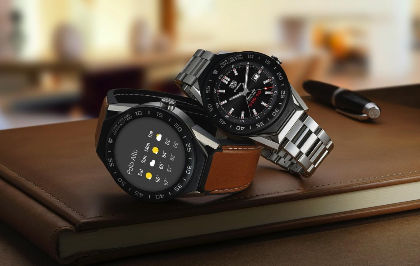 Diseño del TAG Heuer Connected Modular 41
