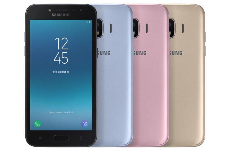 Colores del Samsung Galaxy J2 Pro 2018