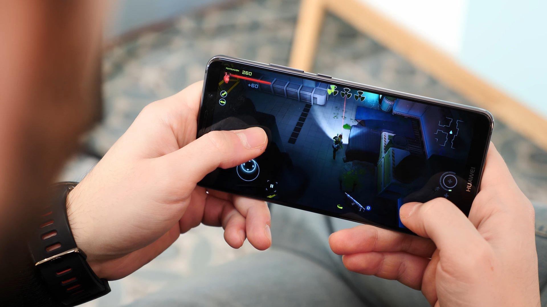 Huawei Mate 10 Pro con juegos