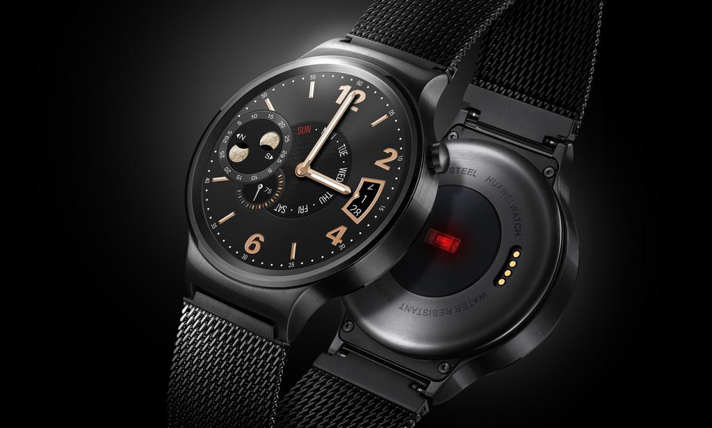 Smartwatch de Huawei con fondo negro