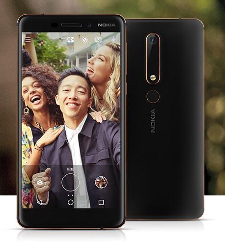 Pantalla del Nokia 6 2018