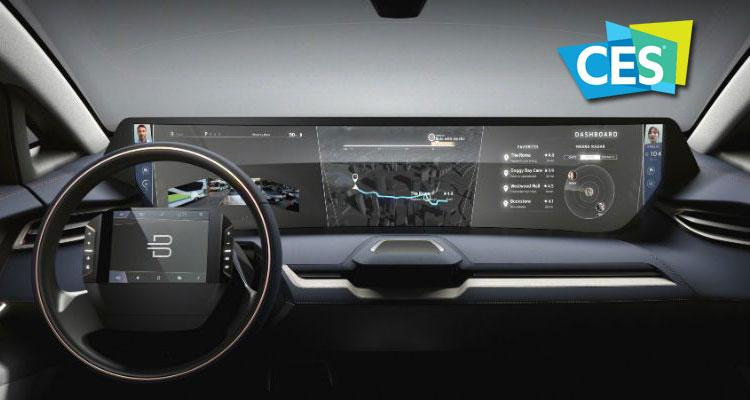 Interior de coche Byton