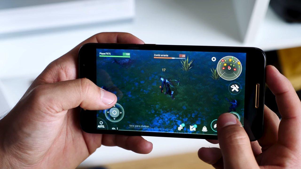 Ejecución juego Alcatel A7