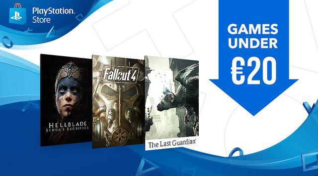 Juegos por menos de 20 euros PlayStation Store