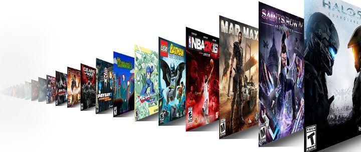 Juegos en la plataforma Xbox Game Pass