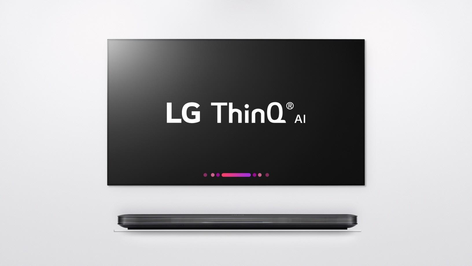 Televisor con LG ThinQ y LG α