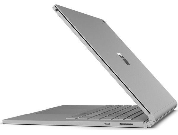 Imagen lateral del Microsoft Surface Book 2
