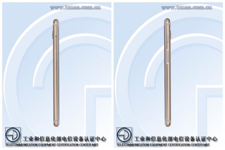 Imagen del lateral del Meizu M6s