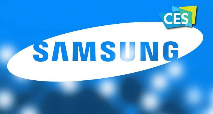 Logotipo de Samsung en CES