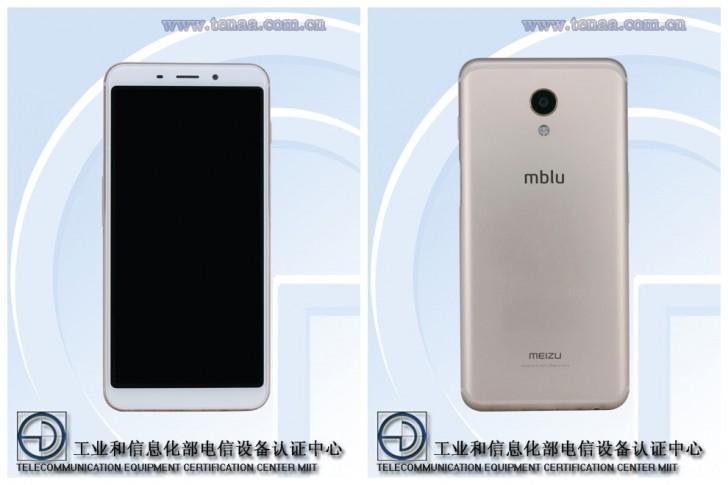 Diseño frontal y trasero del Meizu M6s