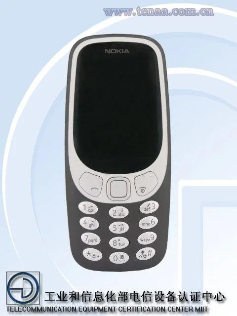 Diseño Nokia 3310 4G