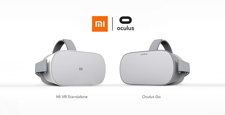 Gafas de realidad virtual OCulus Go y Mi VR fabricadas por Xiaomi