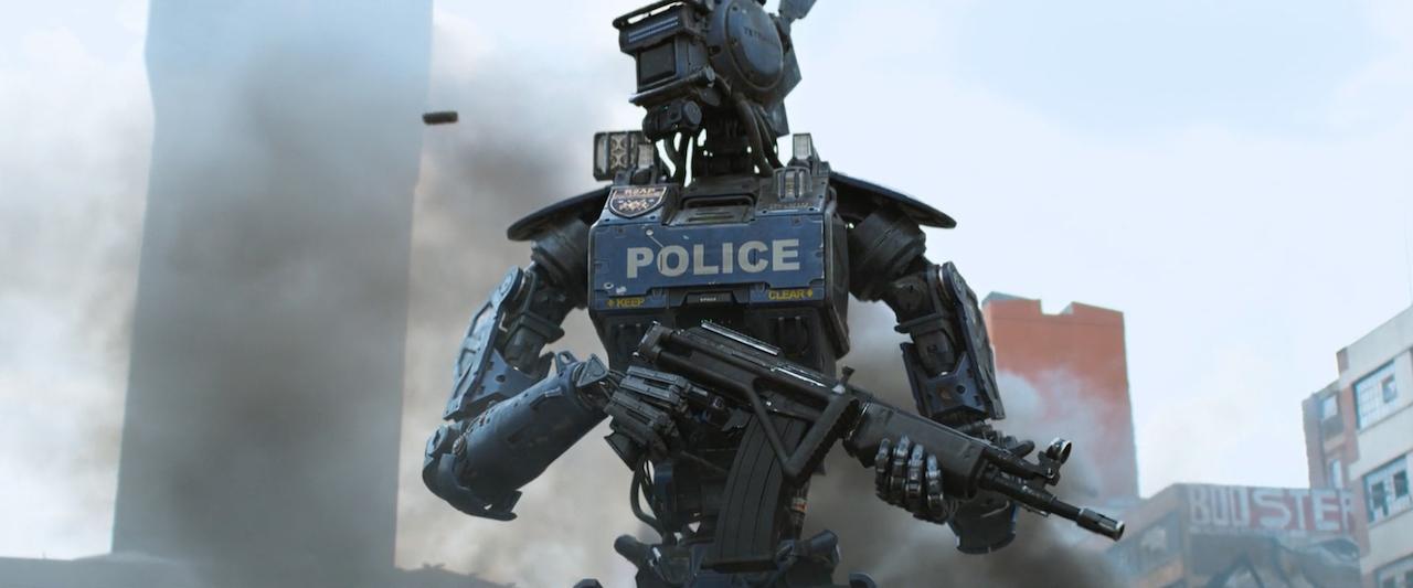 Imagen de robot policía