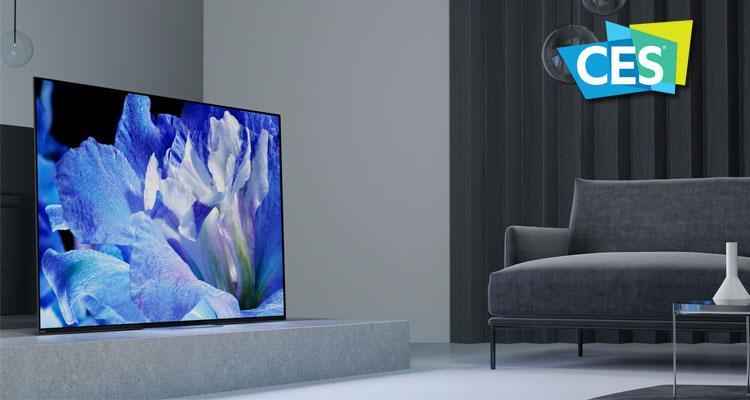 Nuevo televisor Sony en CES 2018