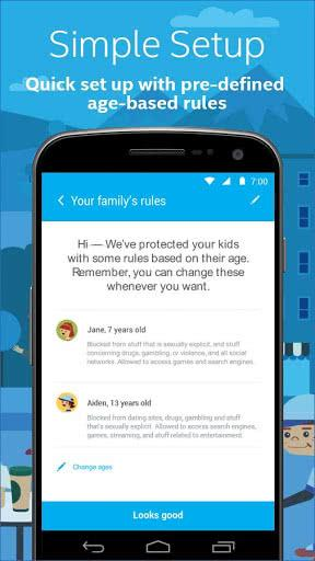 Aplicación Safe Family