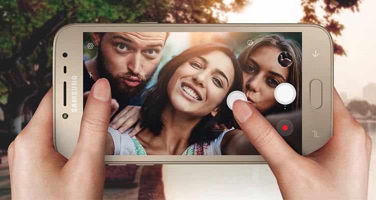 Uso cámara del Samsung Galaxy J2 Pro 2018