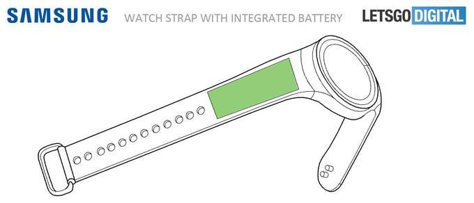 Pulsera Samsung Gear S4 con batería integrada