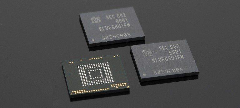 Memoria Samsung UFS