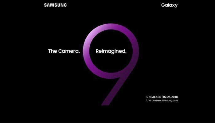 Invitación presentación Samsung Galaxy S9