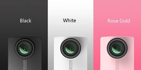 Colores de la cámara Xiaomi YI 4K